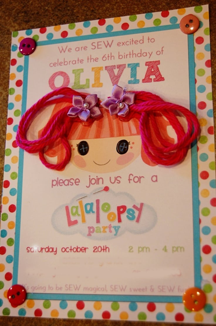 17 Best Ideas About Lalaloopsy Party On Pinterest