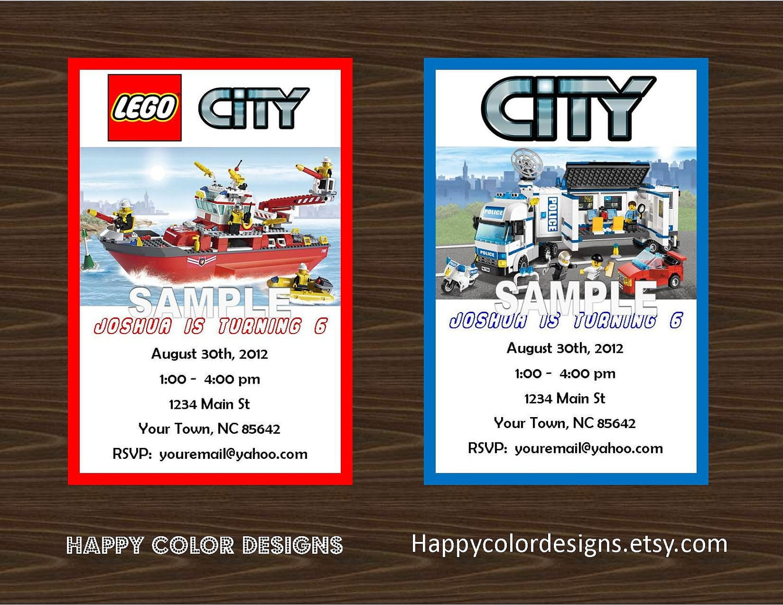 17 Best Ideas About Lego City Birthday On Pinterest