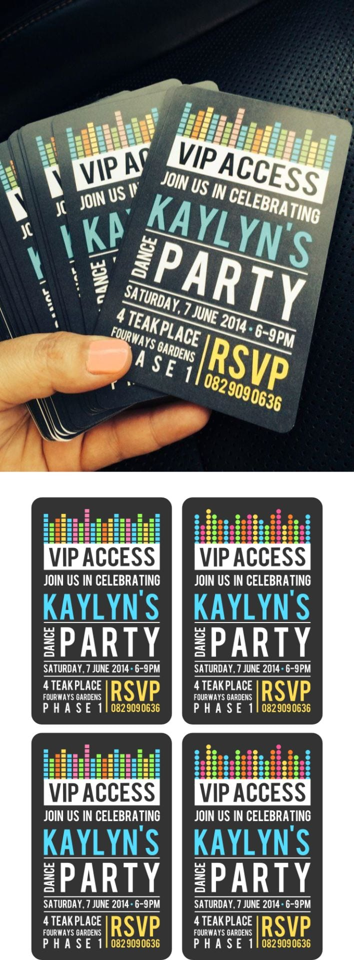 17 Best Ideas About Neon Party Invitations On Pinterest