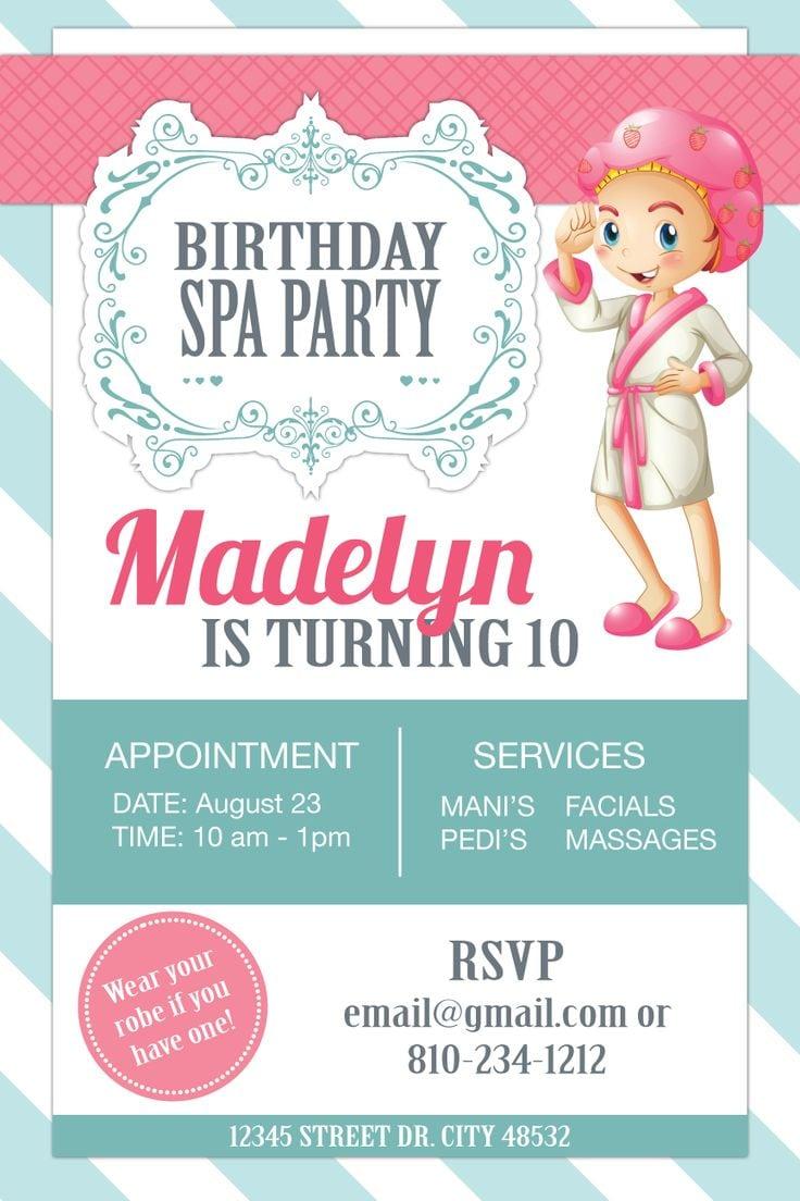 13 year old birthday party invitations - Kani.webpa.co