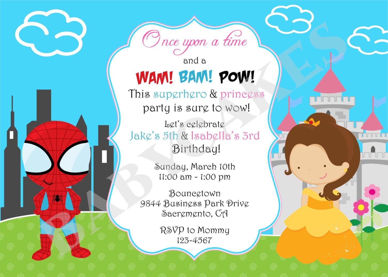 3rd Birthday Party Invitations