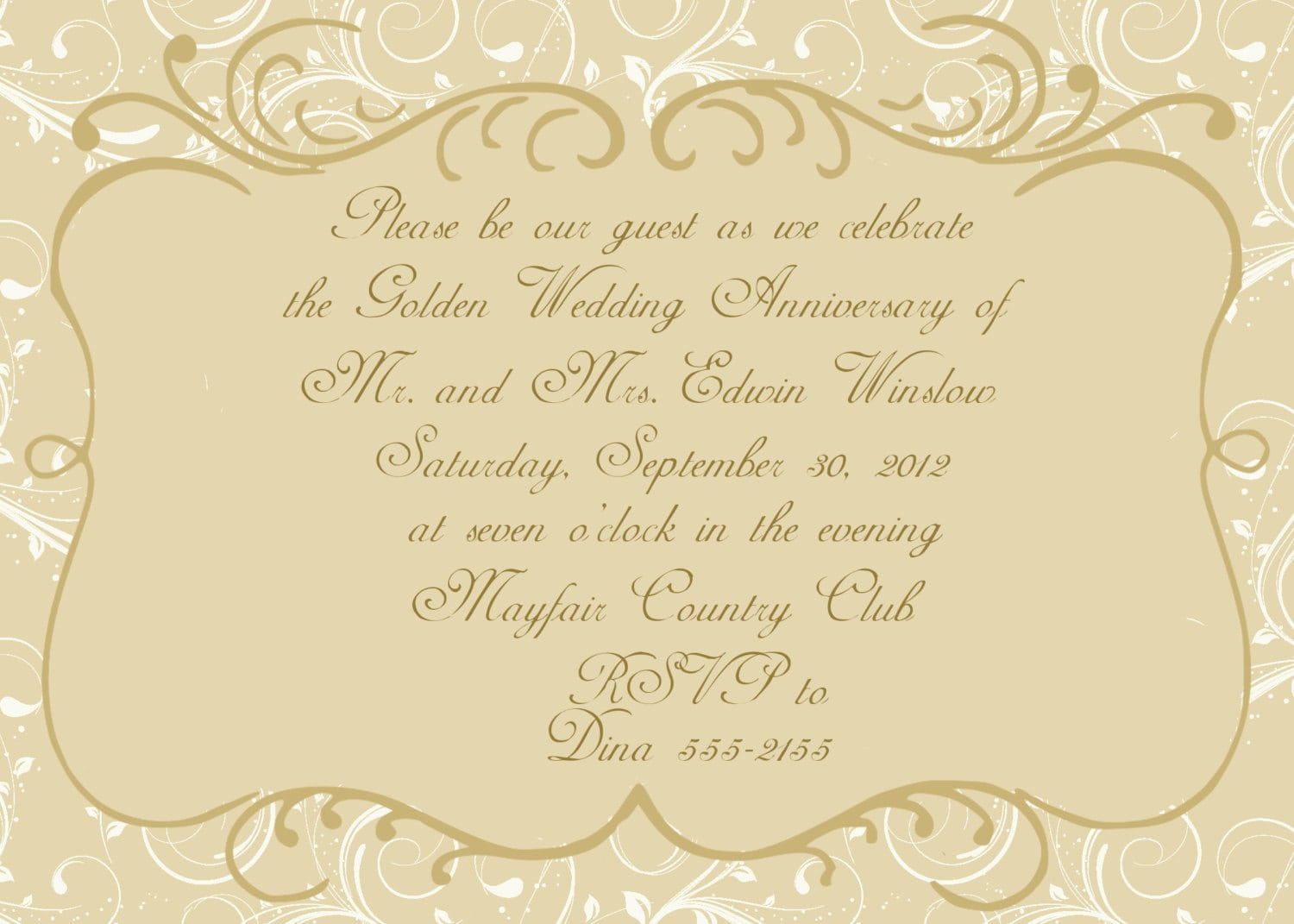 17 Best Images About Anniversary Invitations On Pinterest