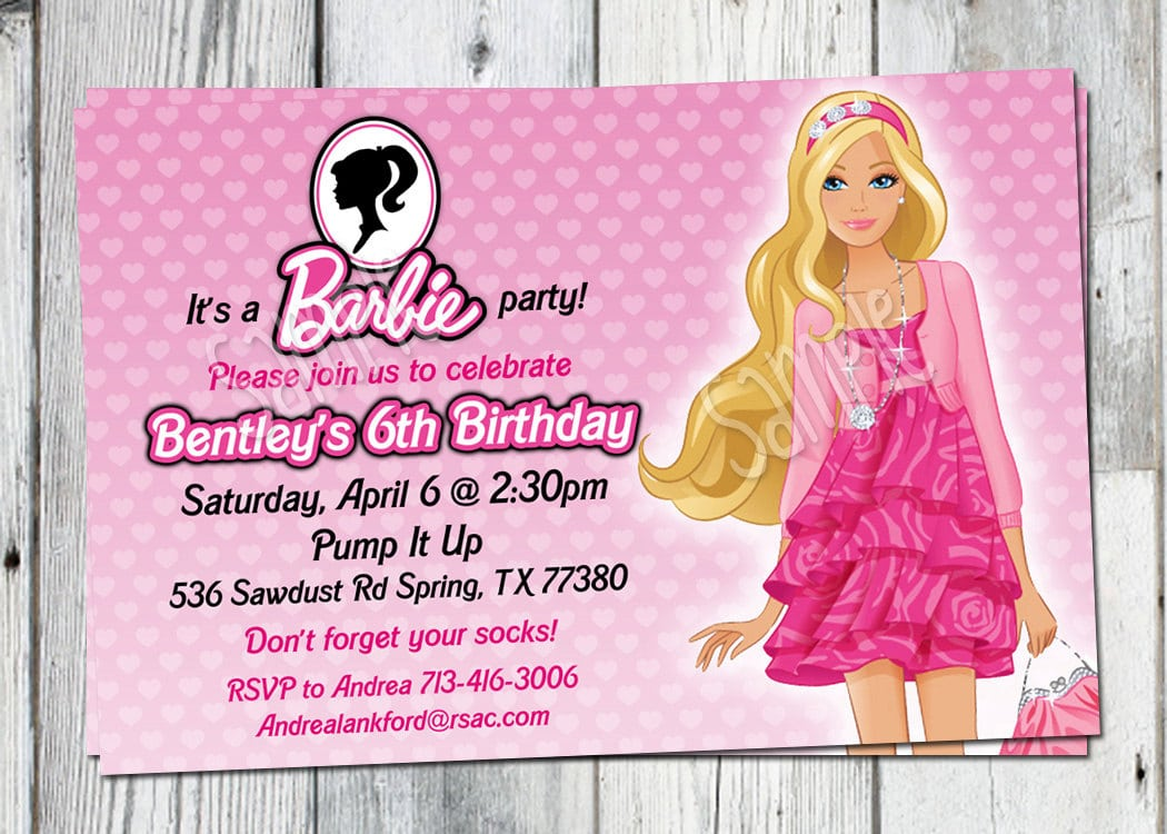 17 Best Images About Barbie Birthday Party On Pinterest
