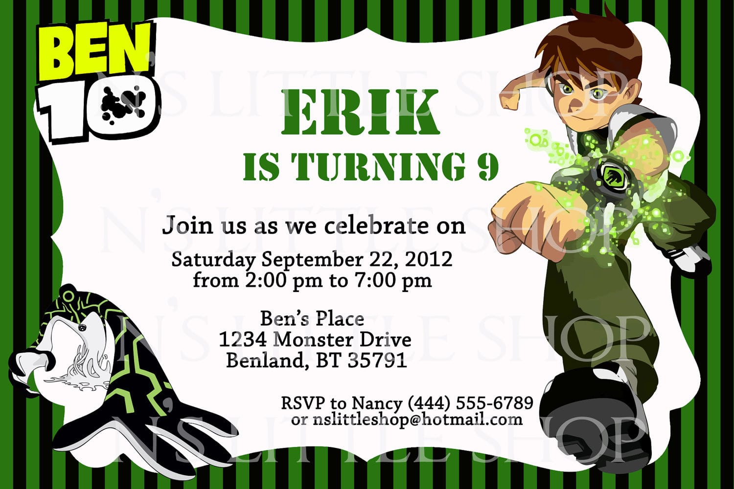 17 Best Images About Ben 10 Party On Pinterest