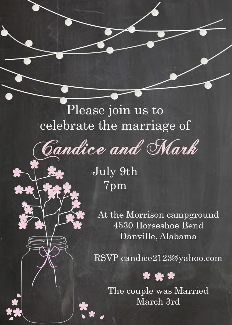 17 Best Images About Eloping Party Invitations (invite Friends To