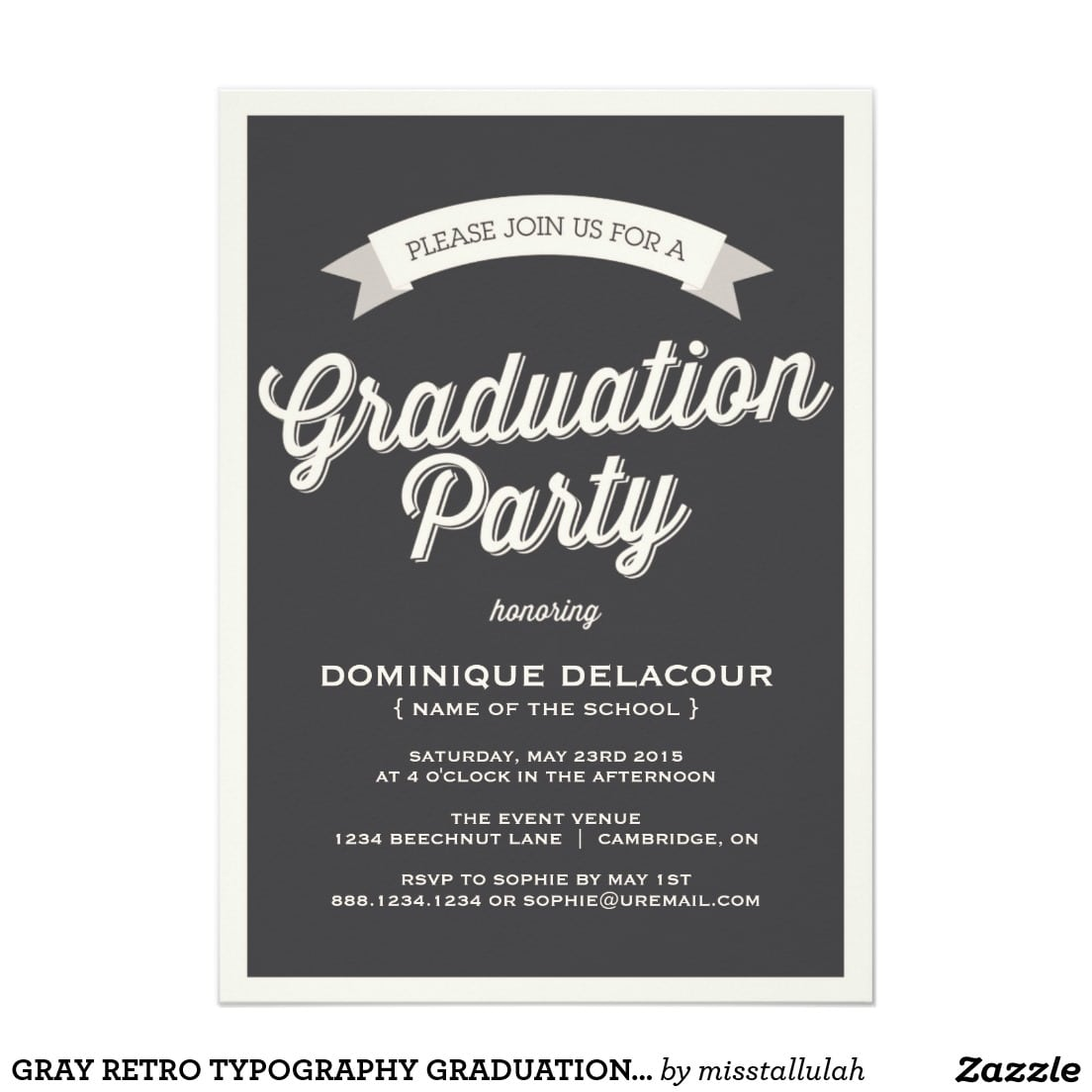 17 Best Images About Graduation Party Invitations On Pinterest