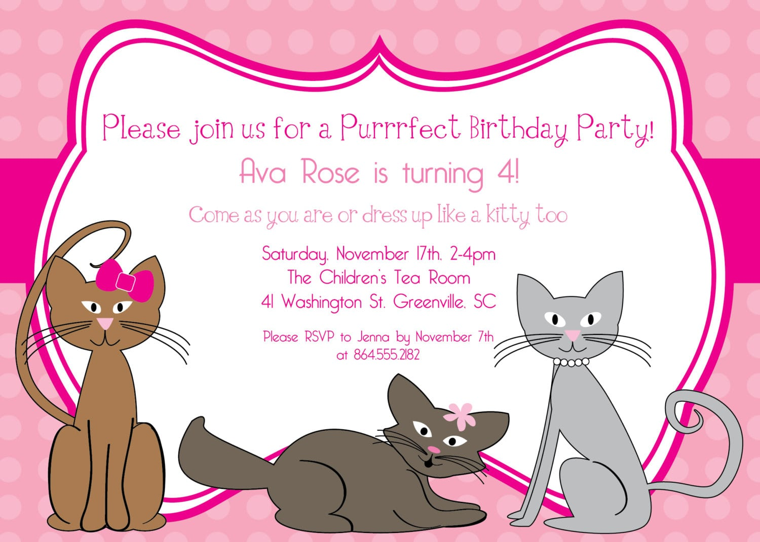 17 Best Images About Kitten Party Ideas On Pinterest