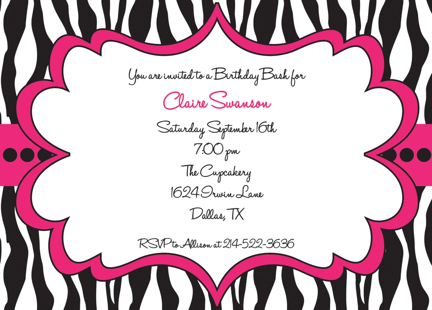 17 Best Images About Party Invitation On Pinterest