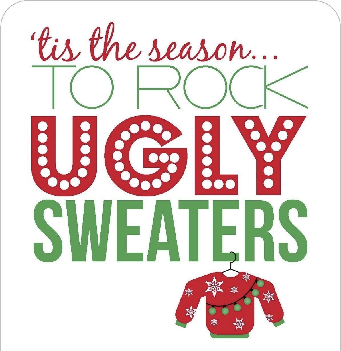 17 Best Images About Ugly Sweater White Elephant Party On