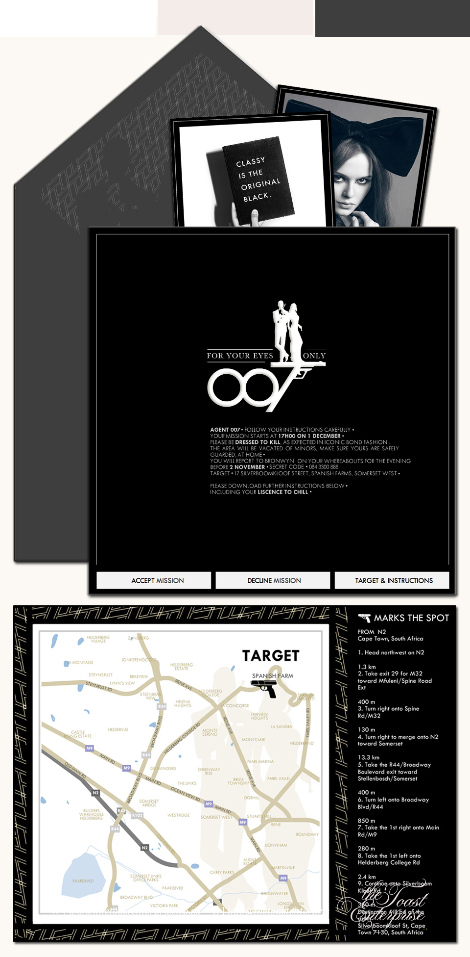 17+ Images About James Bond Wedding Invitations On Pinterest