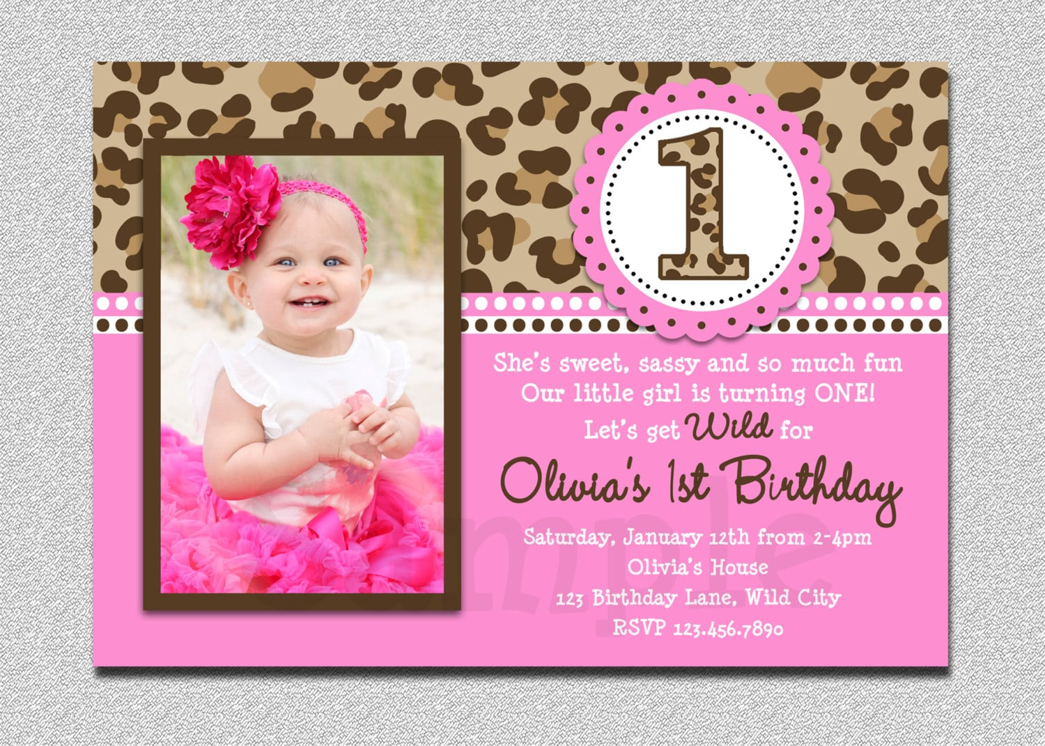 1st Birthday Party Invitations Pictures About 1st Birthday Party