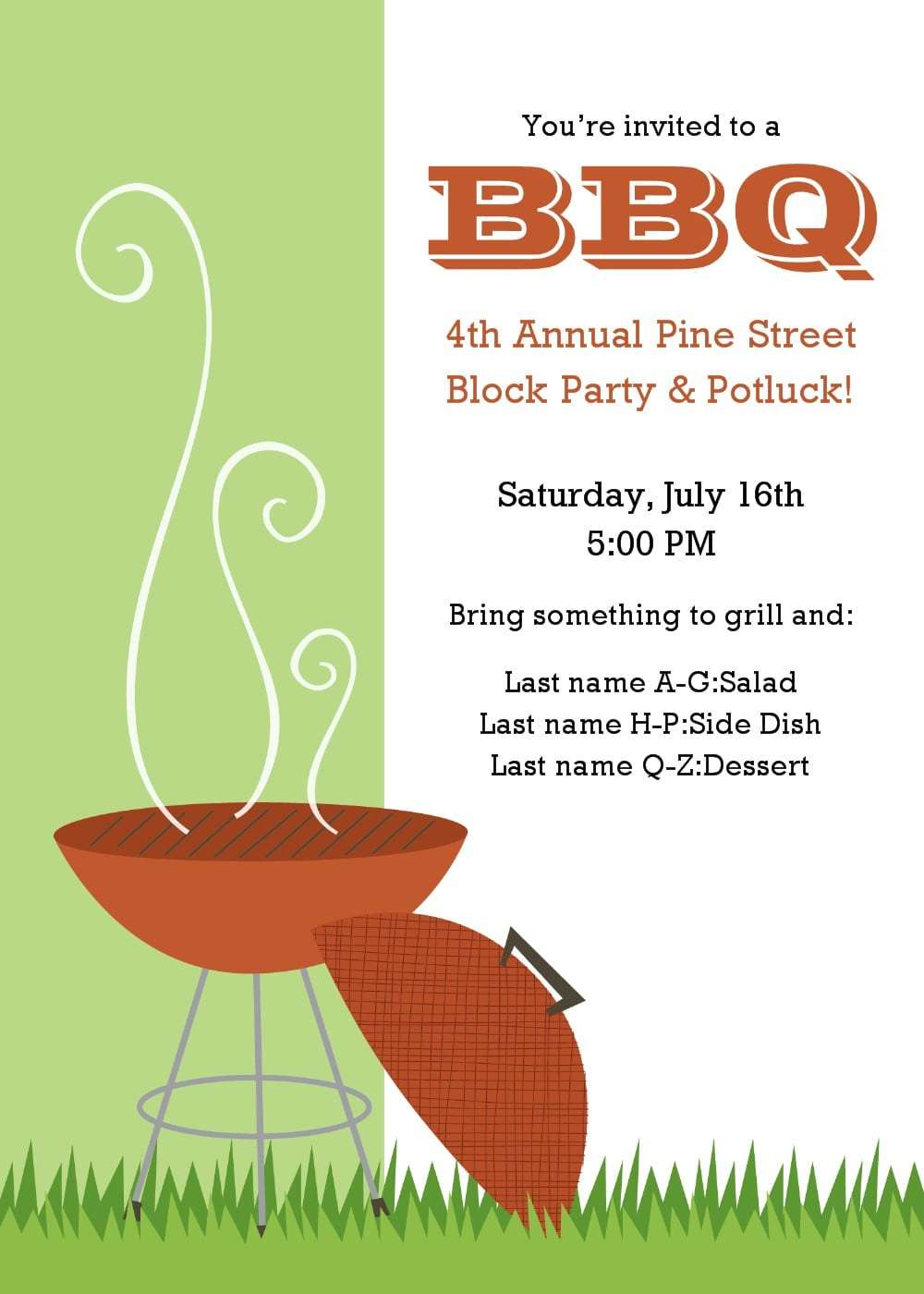 20 Free Barbeque Flyer Templates