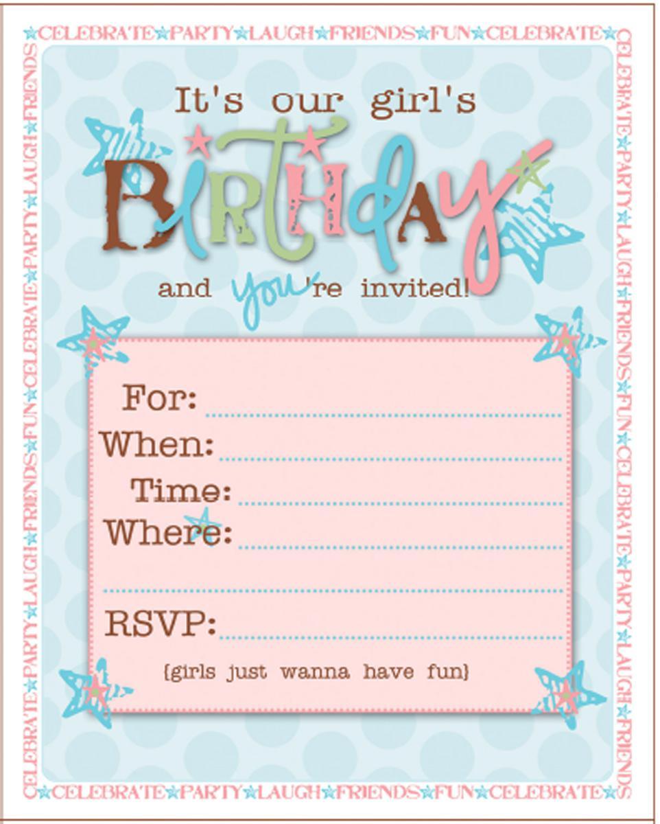 21+ Teen Birthday Invitations Inspire Design Cards