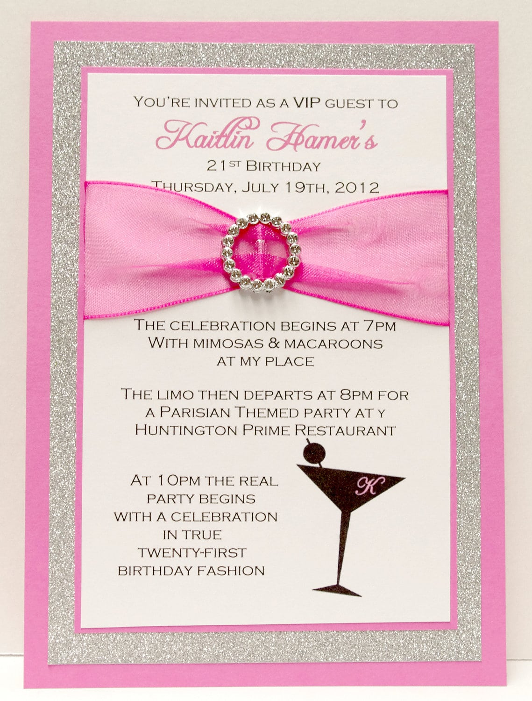21st Birthday Invitation Templates Free  90 Years Birthday