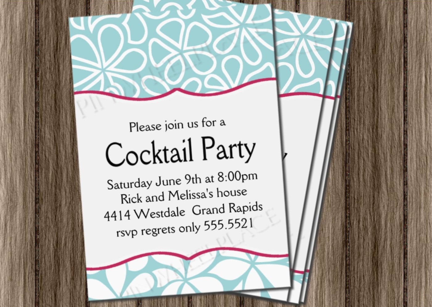 23 Fresh Cocktail Party Invitation Ideas To Inspire You