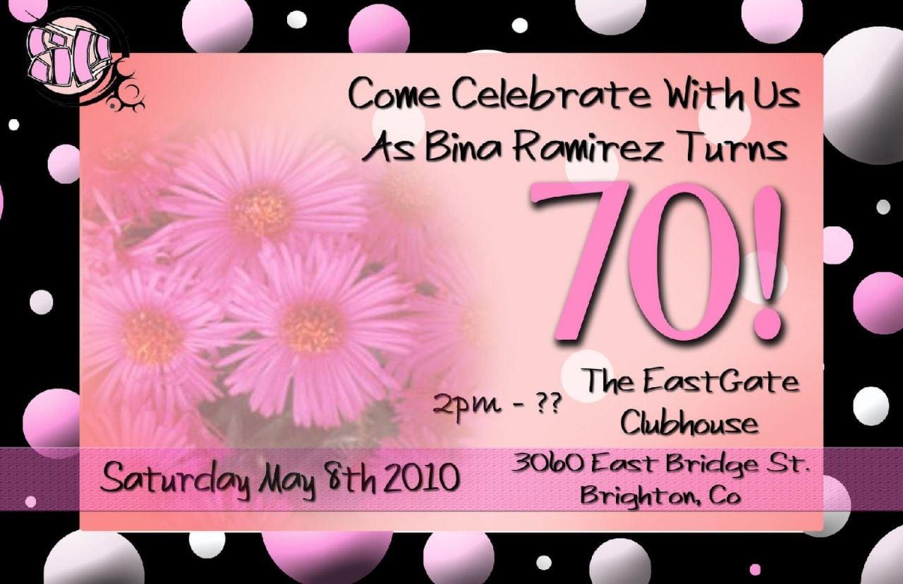 Free printable 70th birthday party invitations 33 70th birthday invitation templates free maxwellsz