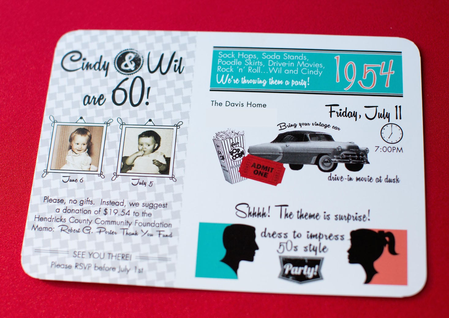 50s Theme Party Invitations Mickey Mouse Invitations Templates