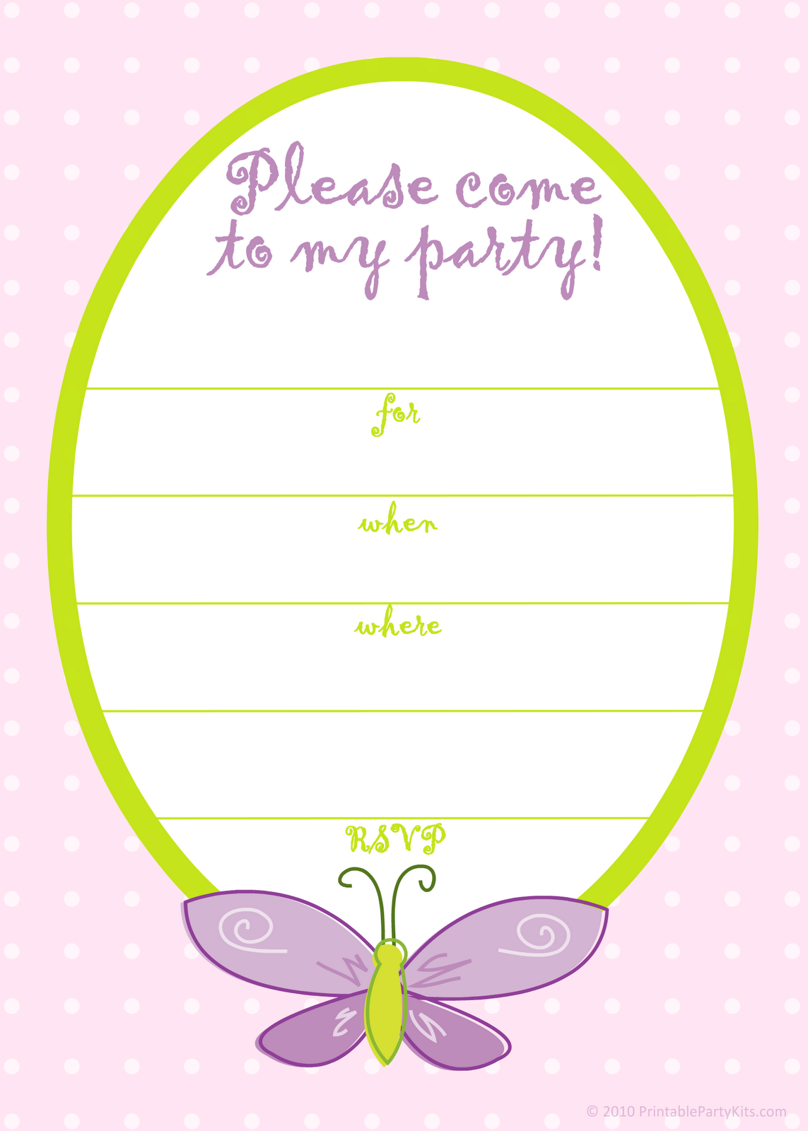 5 Brave Girl Party Invitation Templates Free