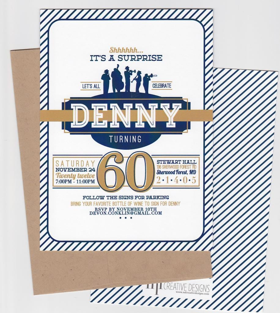 60th Birthday Surprise Party Invitations - Mickey Mouse ...