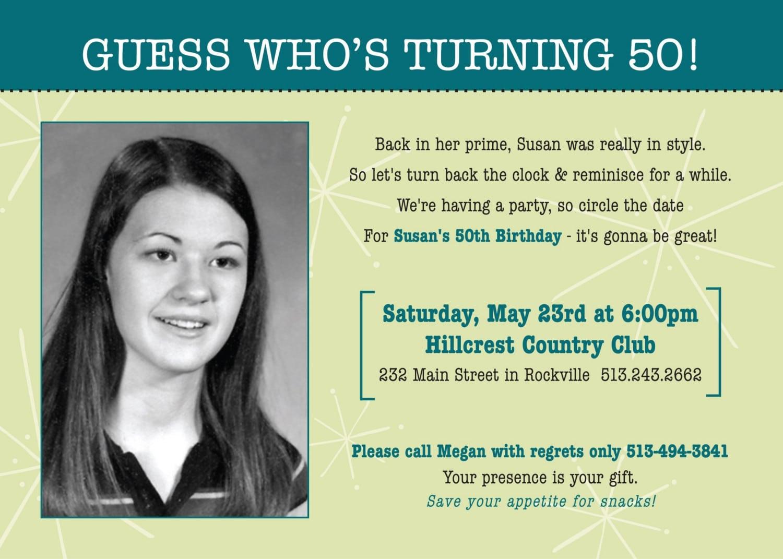 60th Birthday Party Invitations Wording