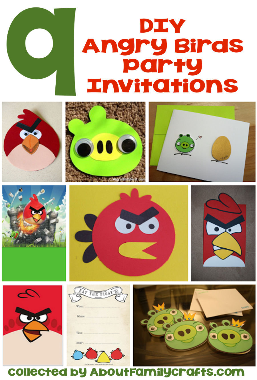 65+ Diy Angry Birds Party Ideas – About Family Crafts