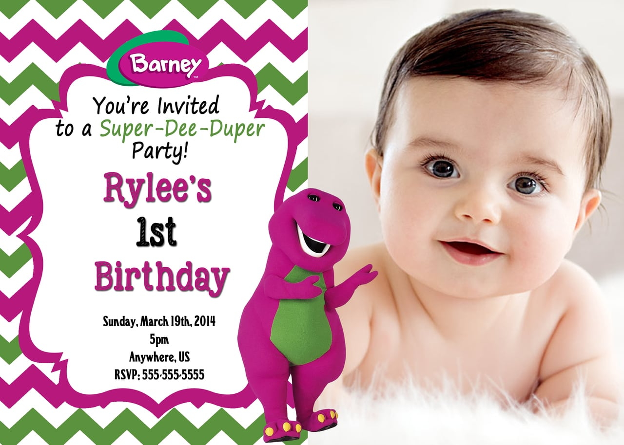 78+ Images About Barney & Friends Party Ideas On Pinterest