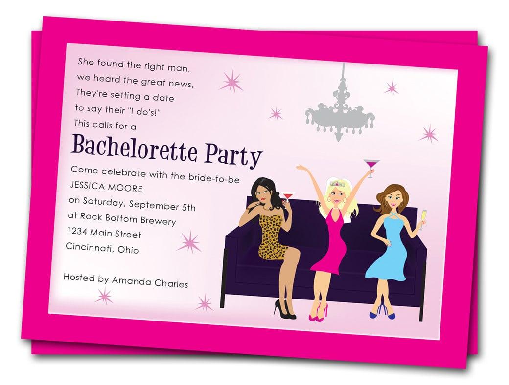 7 Good Bachelorette Party Invitation Wording
