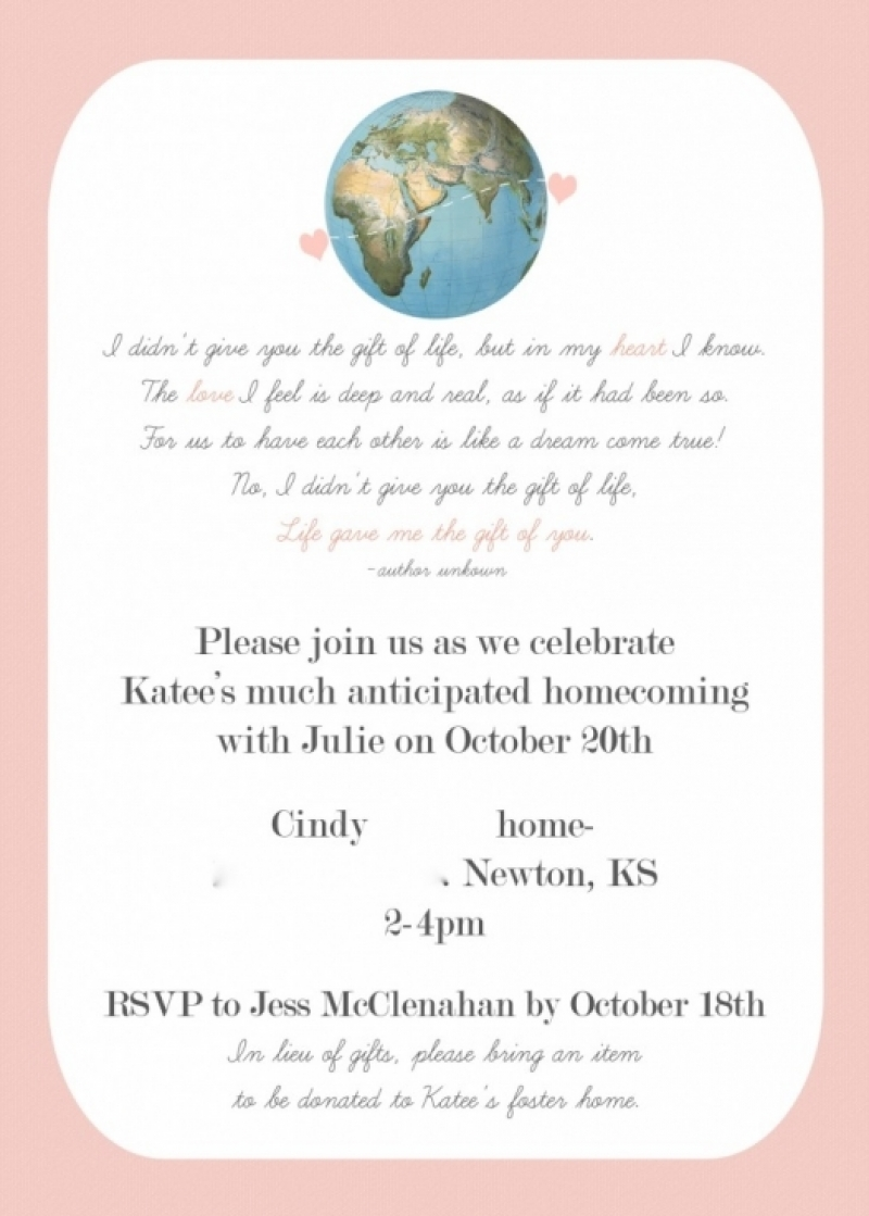 adoption party invitations mickey mouse invitations templates - Adoption Party Invitations