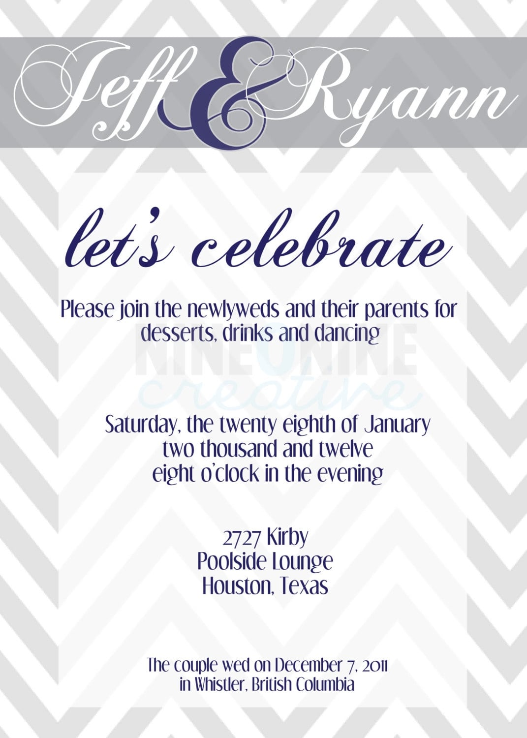 After Wedding Party Invitations Designing Wedding Invitations Gift