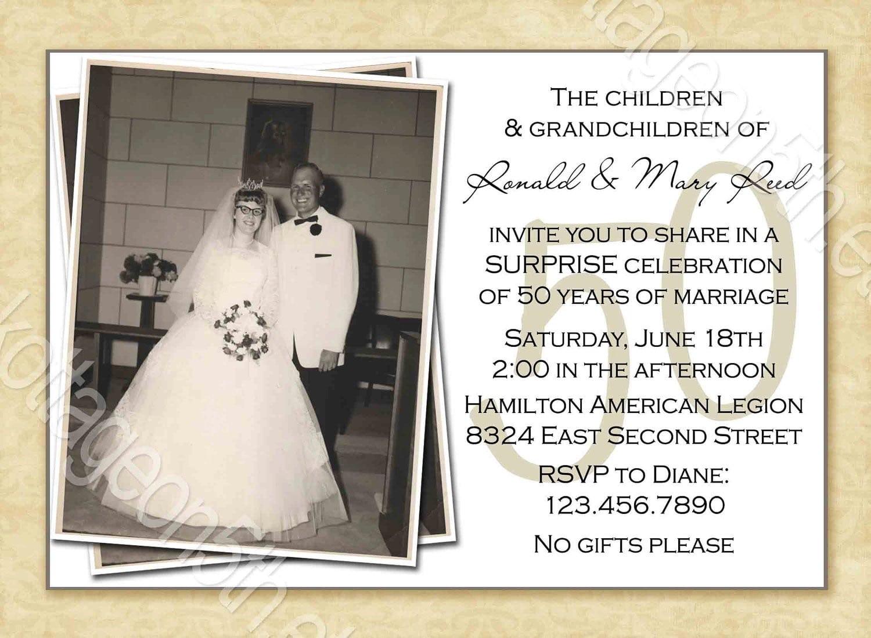 Anniversary  Inspiring 25th Wedding Anniversary Party Invitations