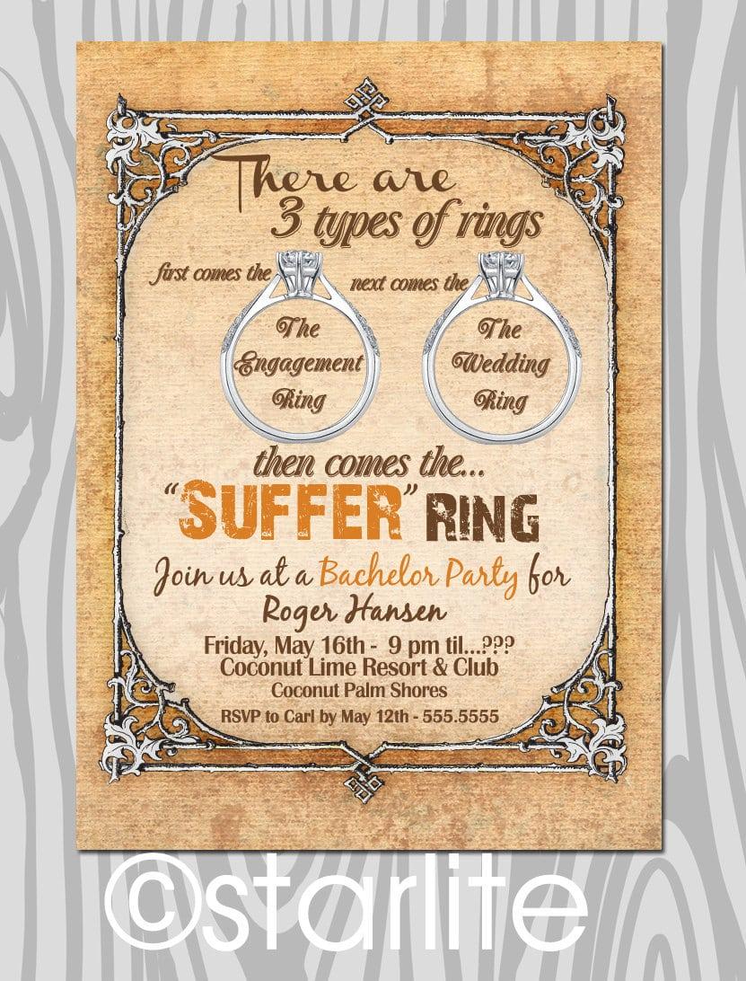 Bachelor Party Invitation Ideas