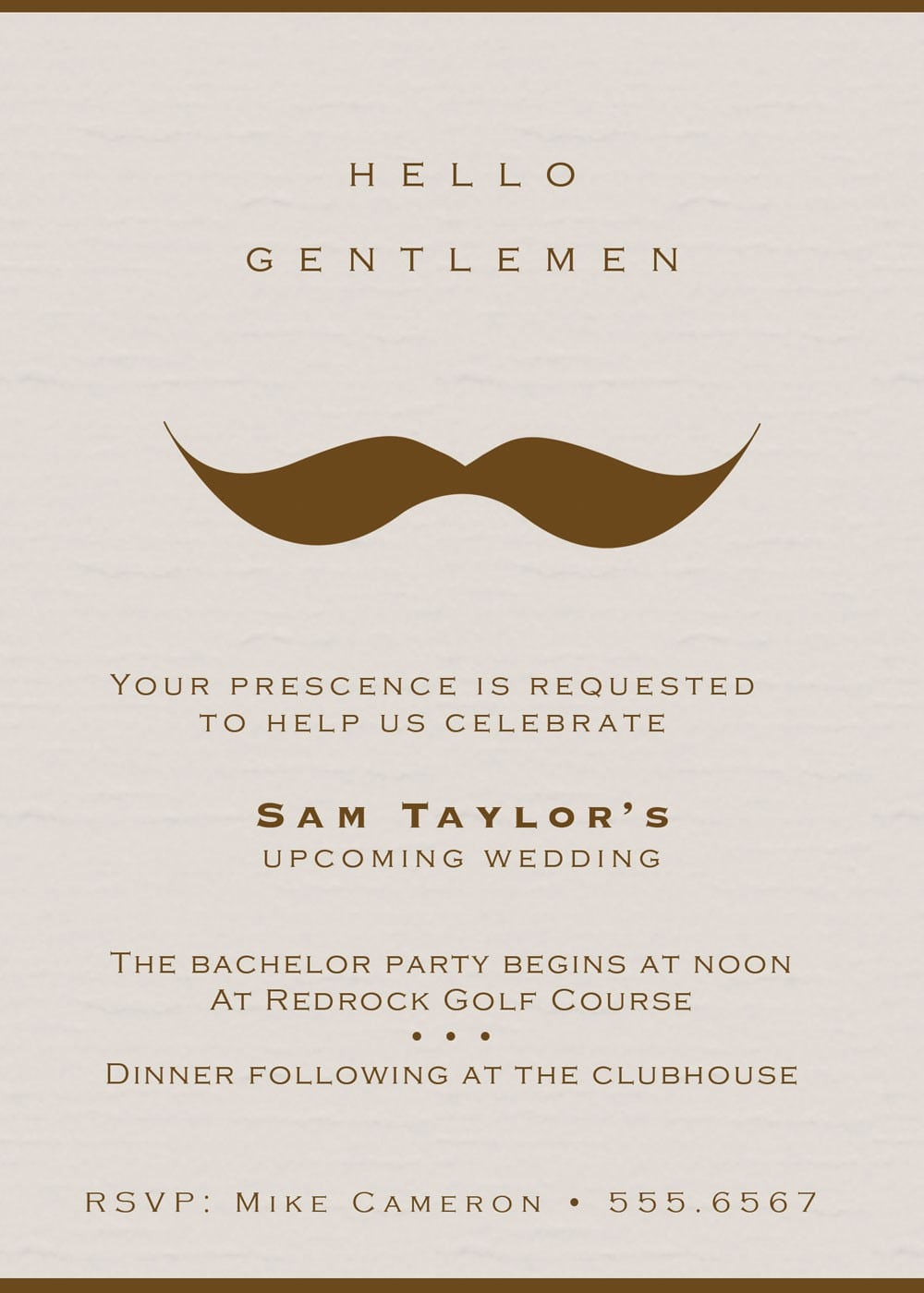 Bachelor Party Invitations Stunning Bachelor Party Invitations 63