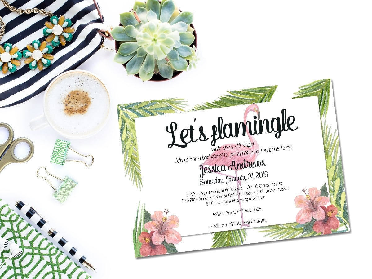 Bachelorette Parties, Themed Bachelorette Parties And Invitations