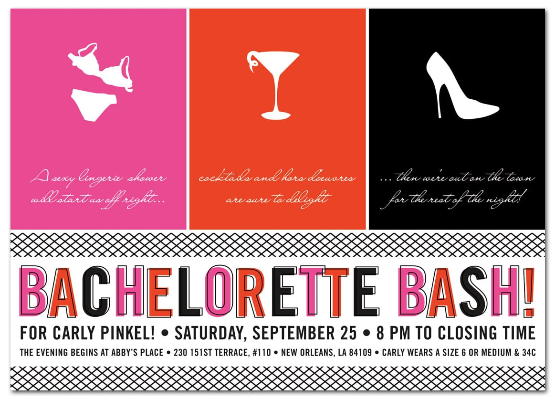 Bachelorette Party Invite – Gangcraft Net