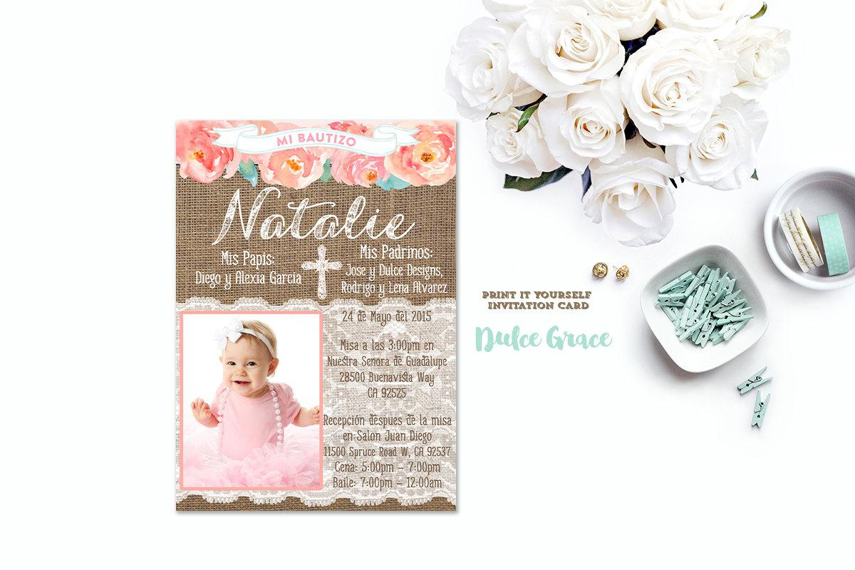 Baptism Party Invitations   Party Invitations For Baptism