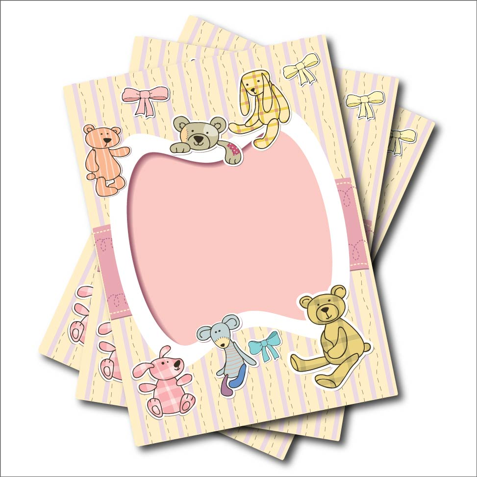 Bear Party Invitations Promotion