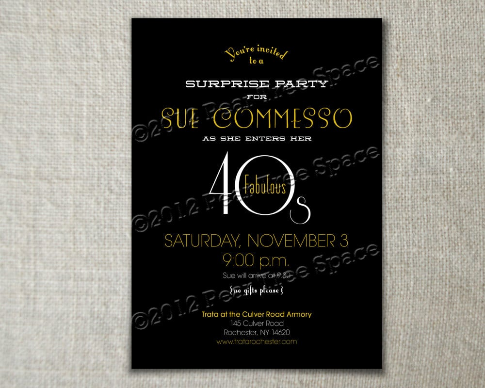 Beautiful Great Gatsby Party Invitation Template Free 8 Concerning