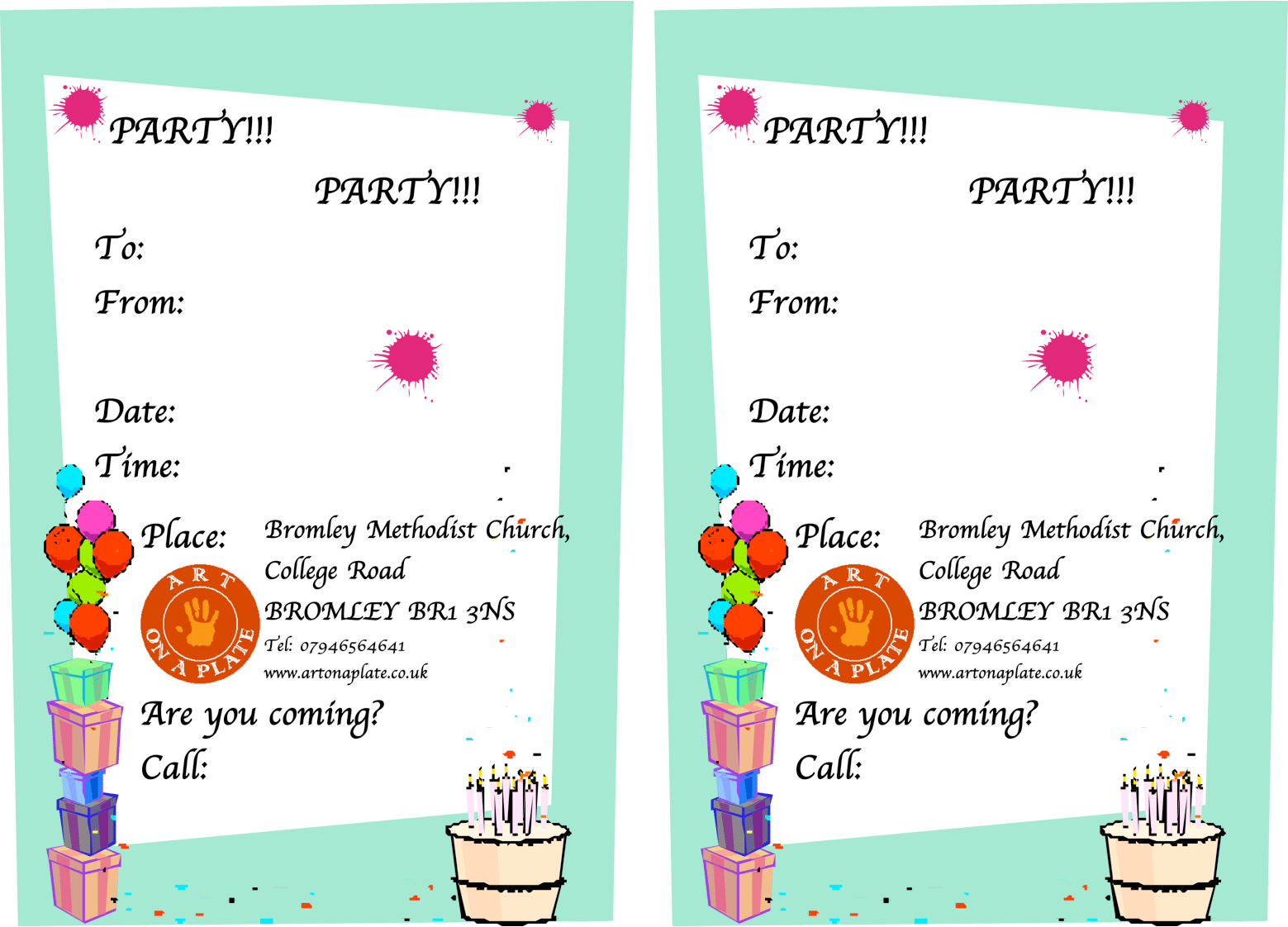 Beautiful Sample Of Invitation Card Party Invitations With A