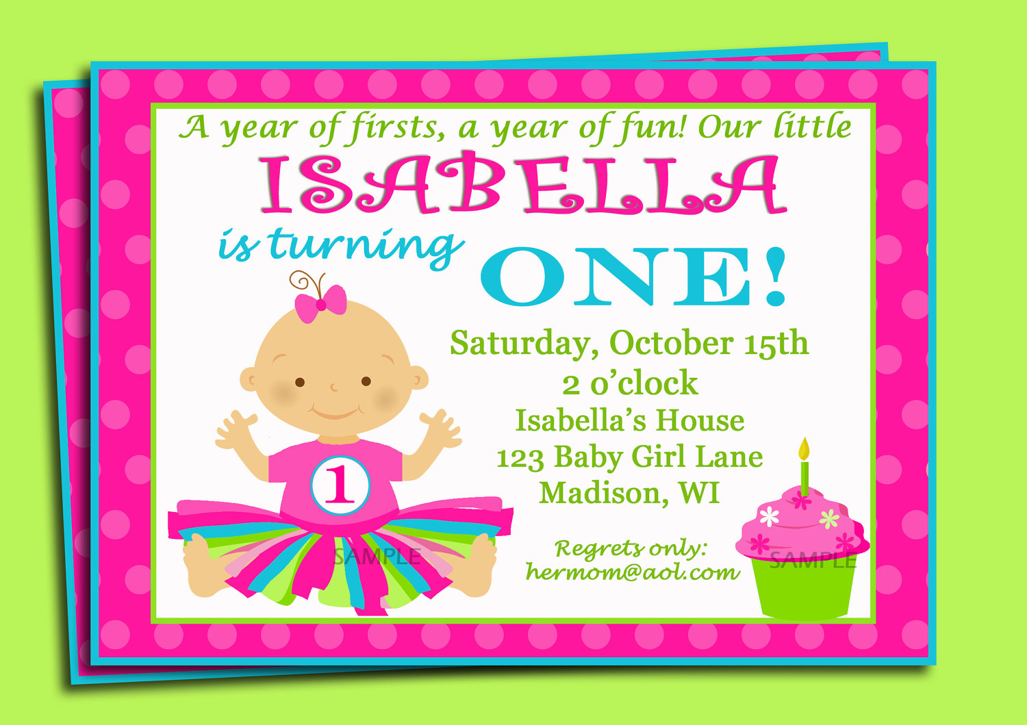 Birthday Invitations Wording For 1st Birthday