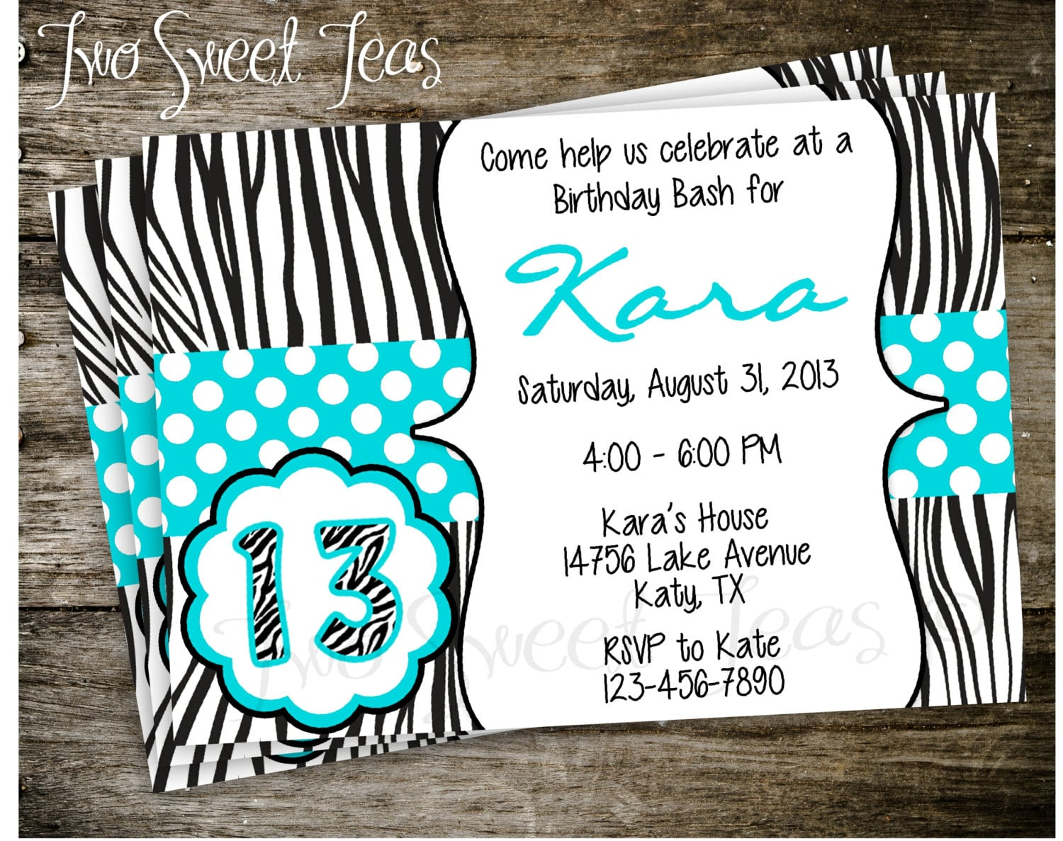 Birthday Party Invitation Ideas For Tweens  Teen Birthday