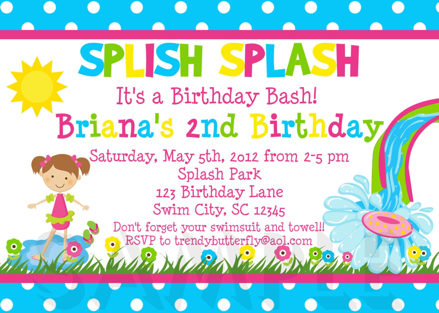 Birthday Party Invitations Ideas