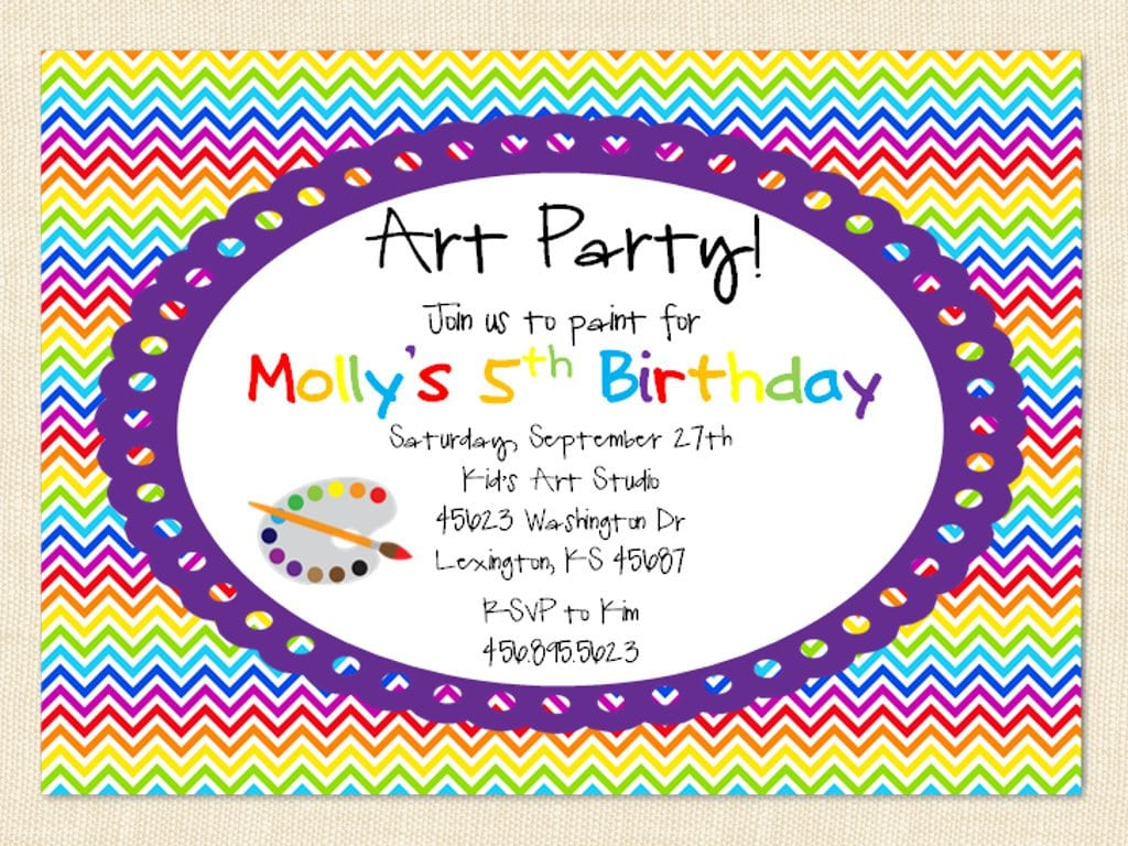 Birthday Party Invite Wording – Gangcraft Net