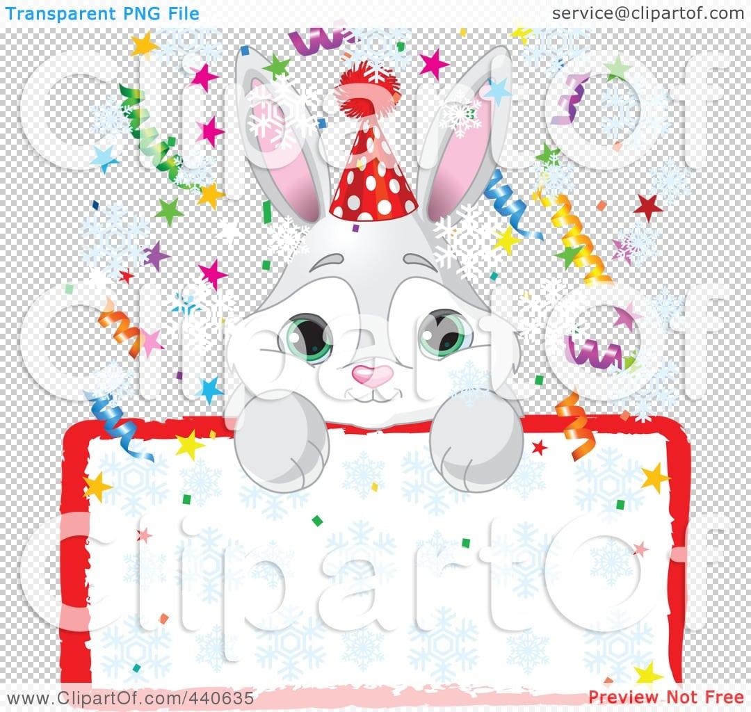 Bunny Birthday Party Invitations