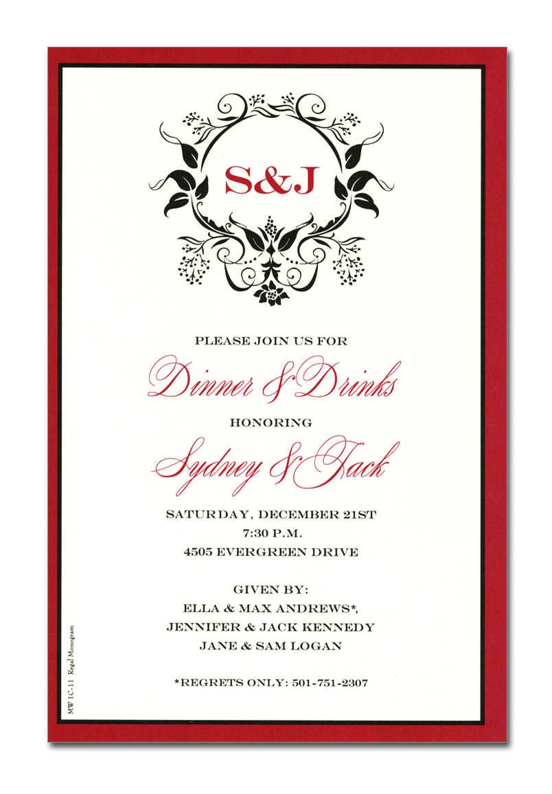 Business Party Invitation Templates Business Holiday Invitations