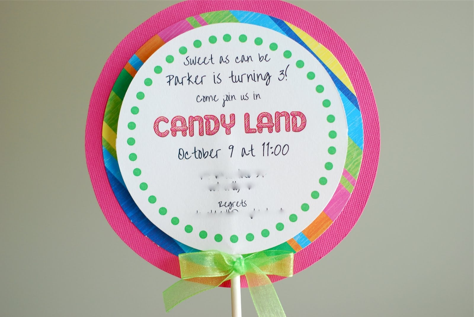 Candyland Party Invitations Ideas - Mickey Mouse Invitations Templates