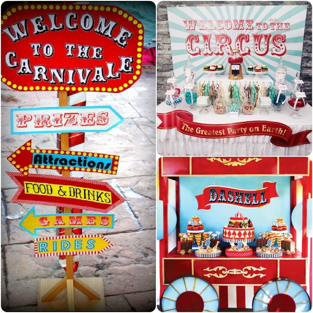 Carnival   Fair   Circus Themed Decorations