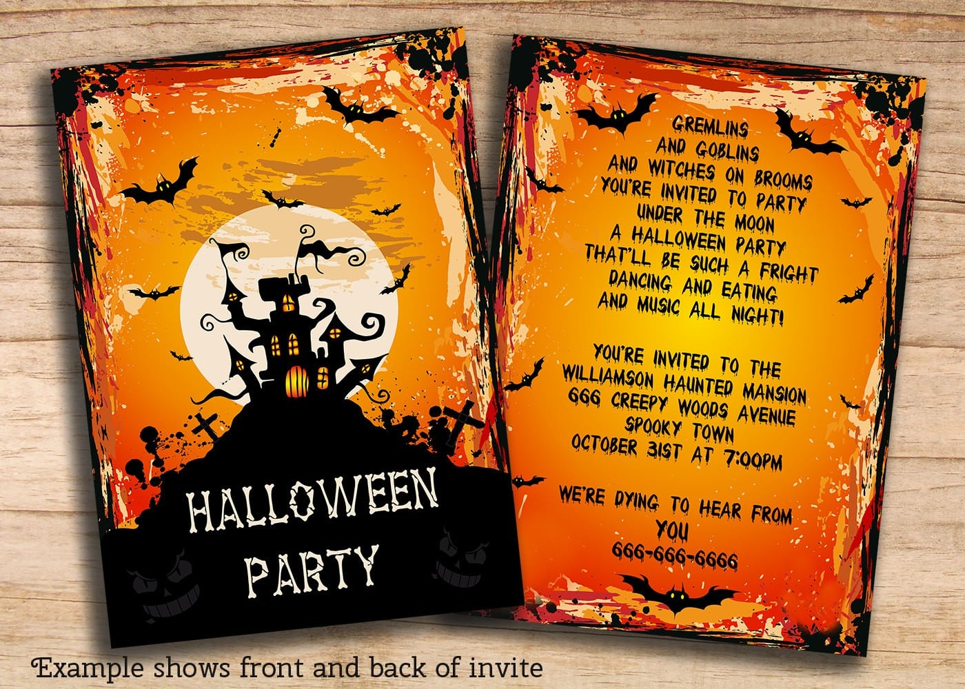 Cheap Halloween Party Invitations Elegant Cheap Halloween Party