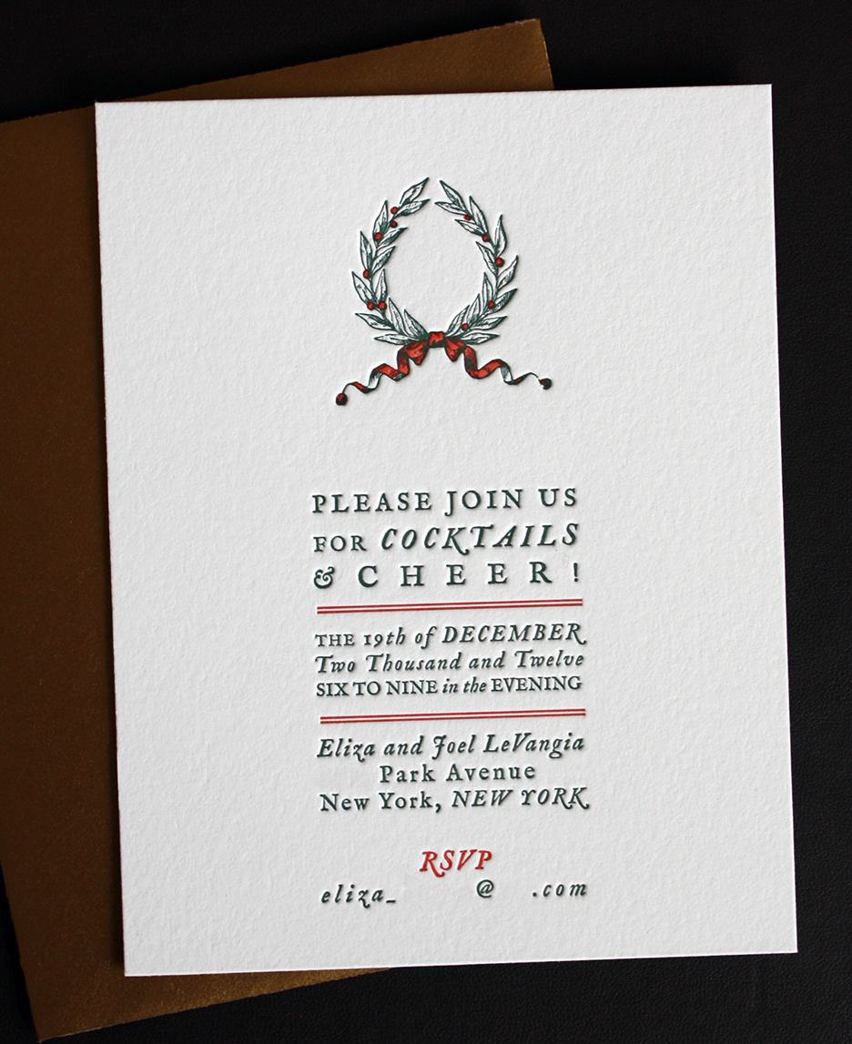 Christmas Holiday Invitation Wording