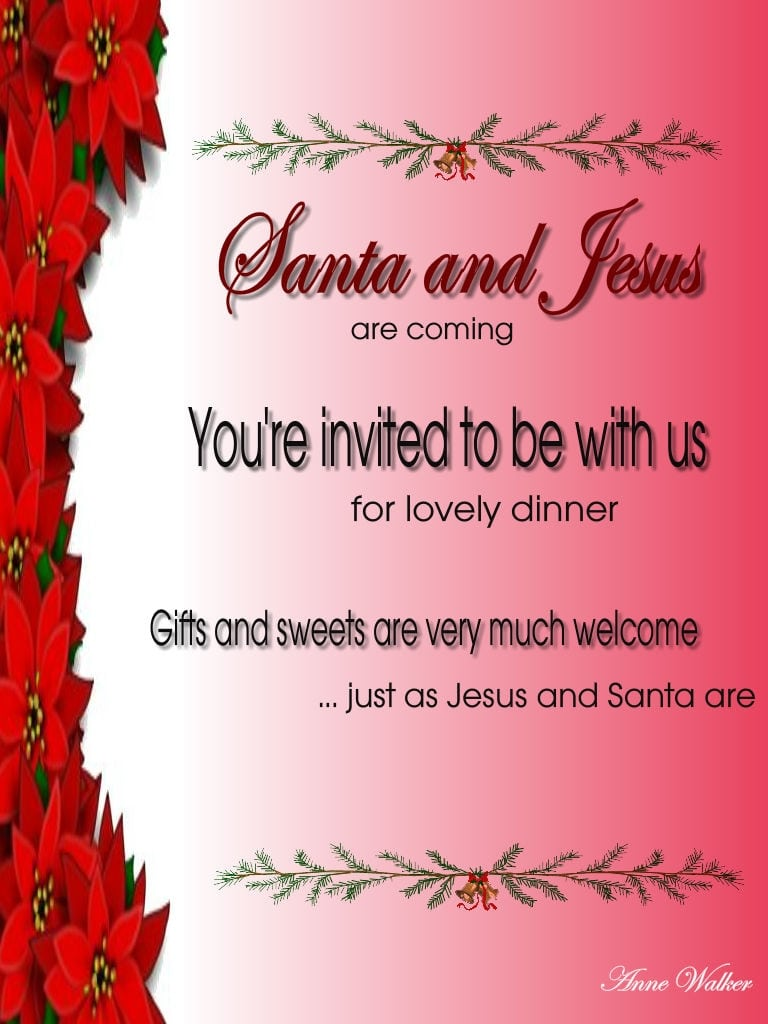 Christmas Party Invitation Quotes New Christmas Party Invitation