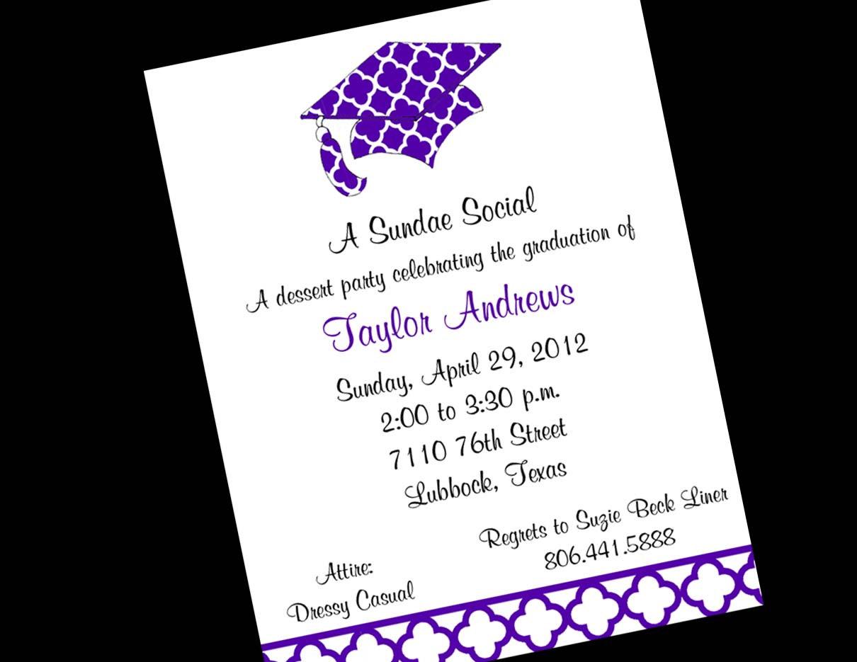 Colors Grad Party Invitations Costco Grad Party Invites Best Grad